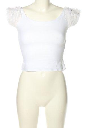 Kookai T-Shirt weiß Casual-Look