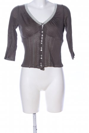 Kookai T-Shirt braun Casual-Look