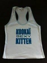 Kookai Tanktop weiß/blau