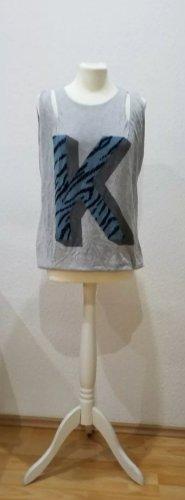 Kookai Top in grau, Größe 34/36