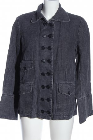 Kookai Blusenjacke blau meliert Casual-Look
