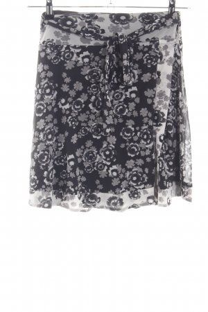 Kookai Wraparound Skirt flower pattern casual look
