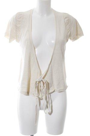 Kookai Camisa cruzada blanco puro look casual