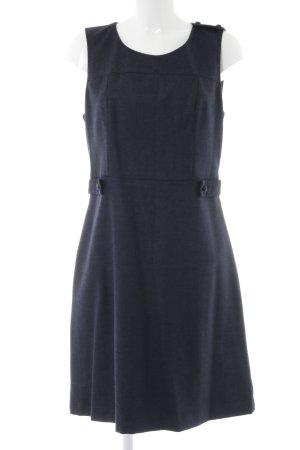 Kookai Vestido de lana azul look casual
