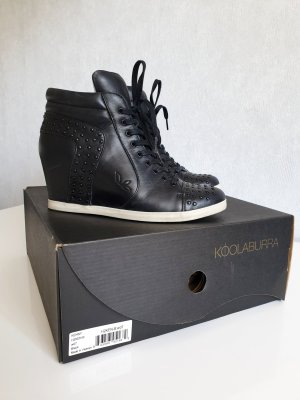 Koolaburra by UGG High Top Sneaker black leather