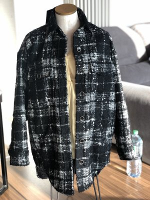 The Kooples Outdoor Jacket black-white