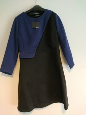 The Kooples A Line Dress black-blue