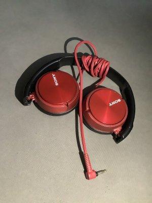 Sony Bijoux pour la tête noir-rouge