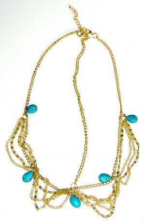 Fashion Jewelry Hoofdsieraden goud Oranje-bos Groen Metaal