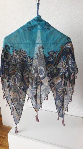 Zijden doek veelkleurig Polyester