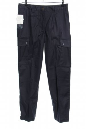 Koppe Pantalón de camuflaje negro look casual
