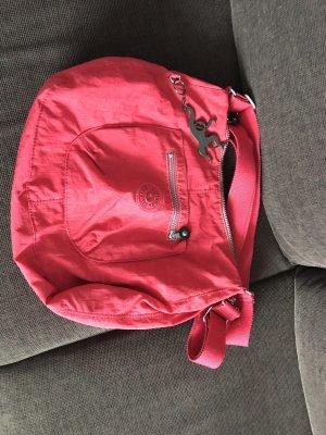 Koralfarbene Kipling Tasche