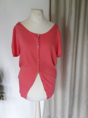 Ann Christine Short Sleeve Knitted Jacket multicolored cotton