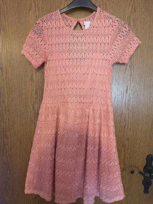 Amisu Robe mi-longue rosé-magenta