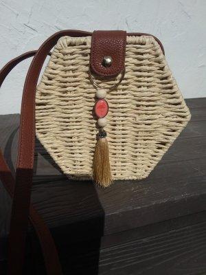 Primark Basket Bag beige-brown