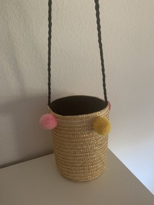 Only Bolso tipo cesta beige