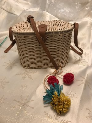 Parfois Bolso tipo cesta multicolor