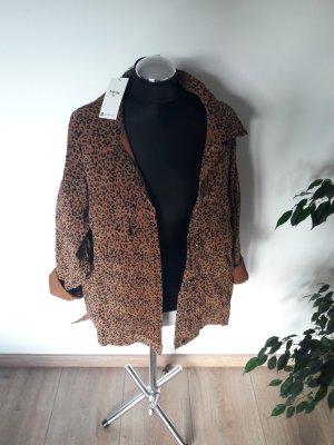 Jubylee Oversized Jacket black-brown