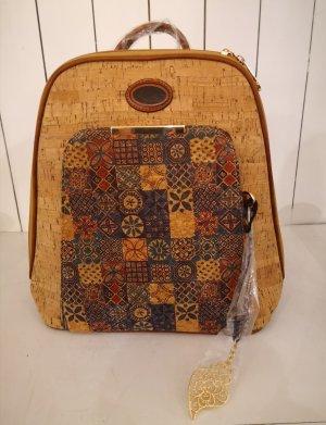 Plecak brąz-beżowy