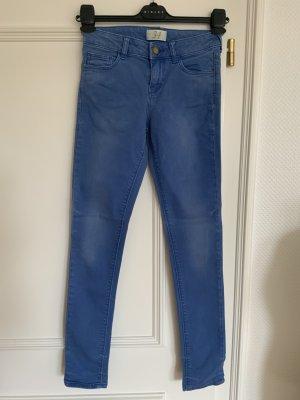 Kornblumenblaue Super Stretch Jeans von Zara Basic - Deluxe Collection