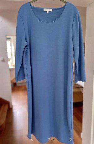 Soyaconcept Vestido de manga larga azul acero Algodón