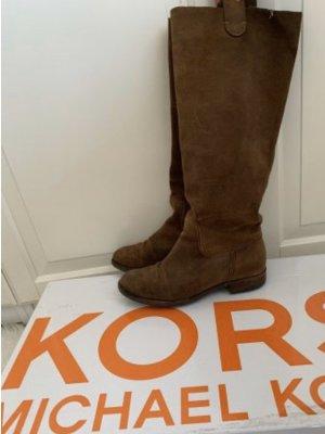 Michael Kors Botas de equitación coñac-marrón