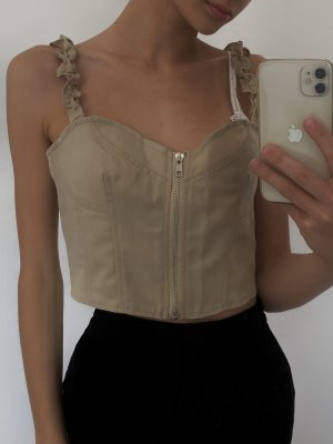 Missguided Corsage Top multicolored