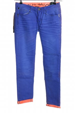 kosai 3/4 Length Jeans blue-pink casual look