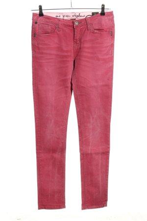 kosai Röhrenjeans pink Casual-Look