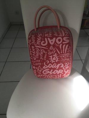 Valigia rosso lampone-rosa