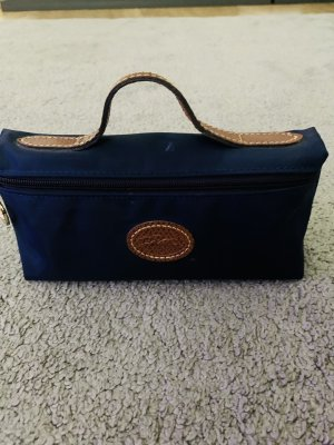 Longchamp Mini sac bleu foncé-brun