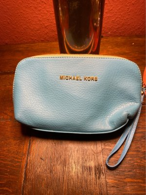 Michael Kors Makeup Bag light blue