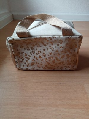 Travel Bag gold-colored-beige