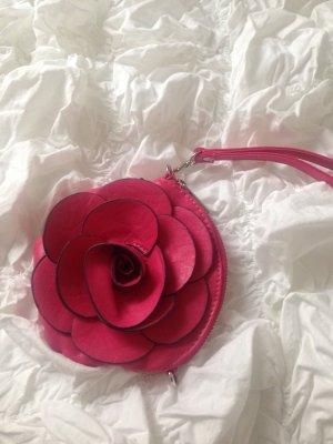 Kosmetiktasche Clutch Rose pink wie neu