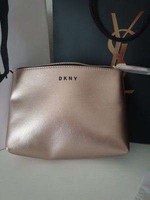 DKNY Trousse à maquillage or rose