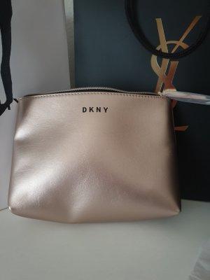 DKNY Neceser de belleza color rosa dorado