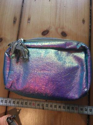 H&M Mini Bag light grey-purple synthetic material