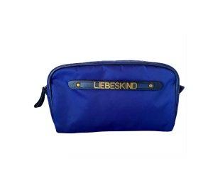 Liebeskind Borsa porta trucco nero-blu Nylon