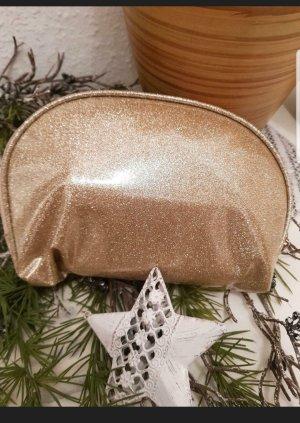 Bolsa de Cosmeticos color oro