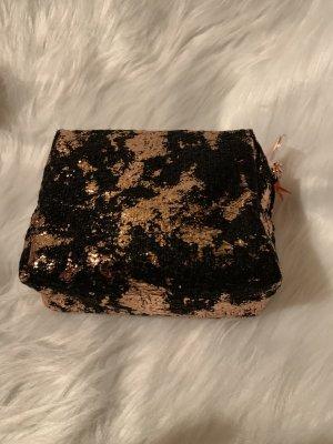 Kosmetiktasche von Mac inkl Lippenstift in Gold Star