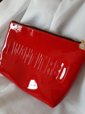 Yves Saint Laurent Borsetta mini rosso mattone