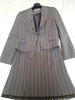 More & More Tailleur marrone-grigio