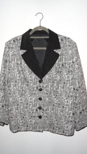 Kostium czarny-biały Wiskoza
