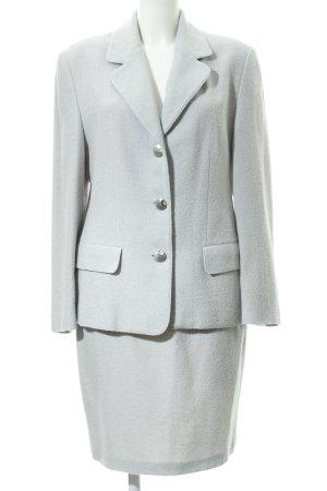 Traje para mujer azul pálido estilo «business»