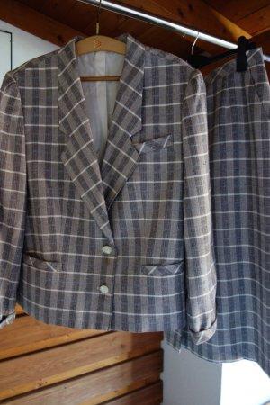 Damespak grijs-lichtgrijs Polyester