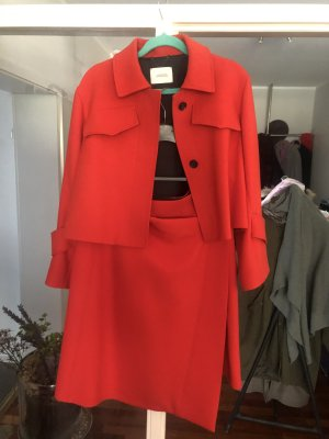 Dorothee Schumacher Coat Dress bright red