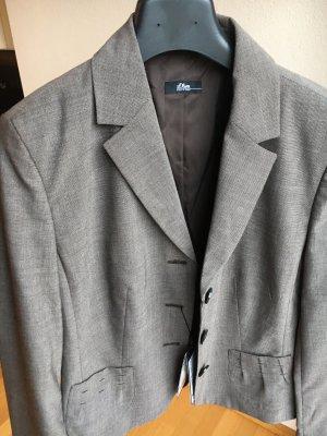 s.Oliver Abito business marrone-grigio