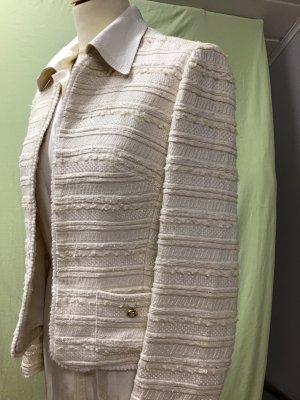 Hero Paris Blazer en laine blanc cassé