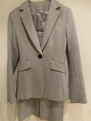 H&M Damespak lichtgrijs-grijs