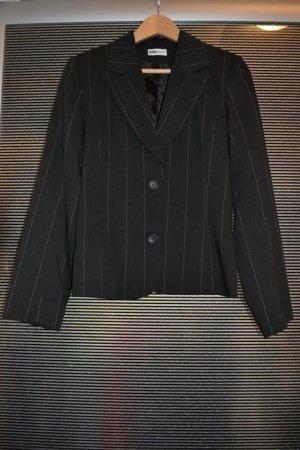 Kostüm / Hosenanzug rosa Nadelstreifen 3-teilig Gr. 34-36 Blazer + Hose